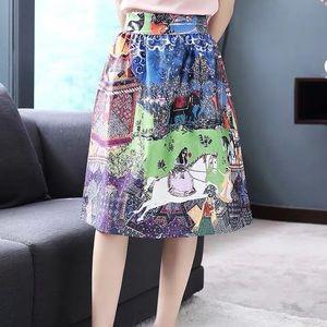 Dresses & Skirts - Renaissance Oil Painting Style Skirt